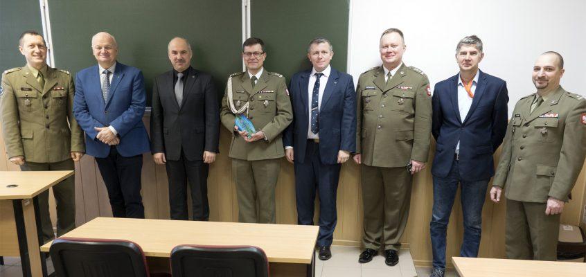 Pożegnanie z mundurem ppłk. mgr. inż. Roberta Krawczaka