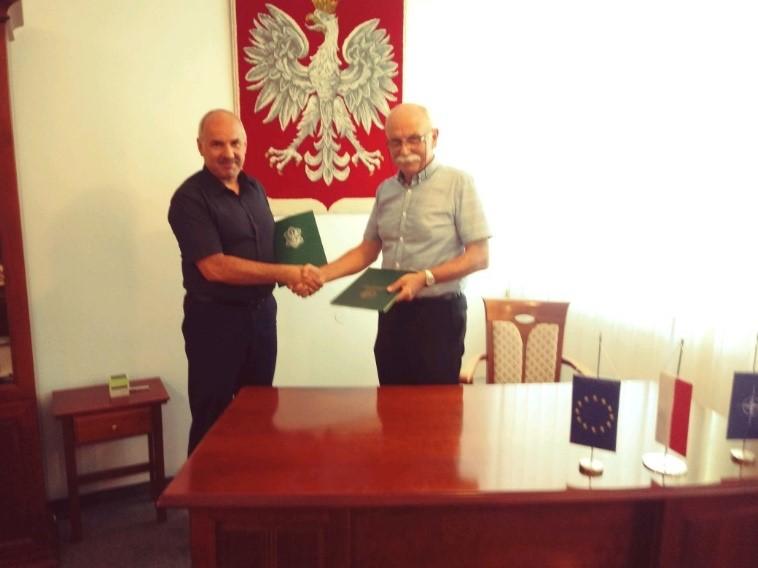 Podpisanie umowy o współpracy z firmą IDE Electronics Sp. z o. o.