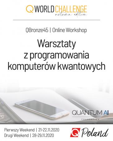Pierwsze w Polsce zdalne warsztaty z programowania komputerów kwantowych