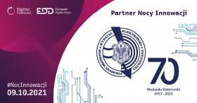 Wydział Elektroniki partnerem 3 edycji Nocy Innowacji